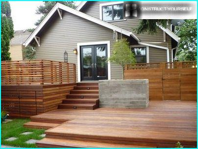 Design features deck