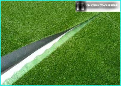 Artificial Turf connection joints