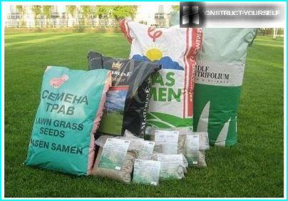 Seeds for lawn