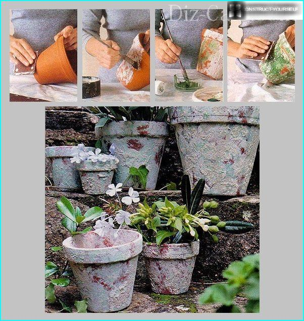 So a simple way you can make pots antique