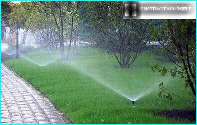 Automatic watering