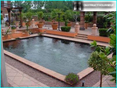 Pool geometric shapes