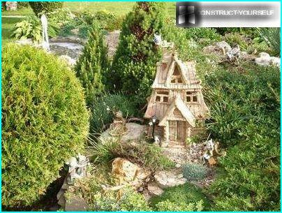 Small garden forms