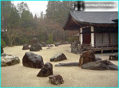 Rock Garden, created by Zen culture