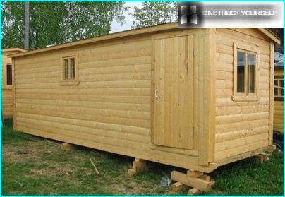 Frame cabins