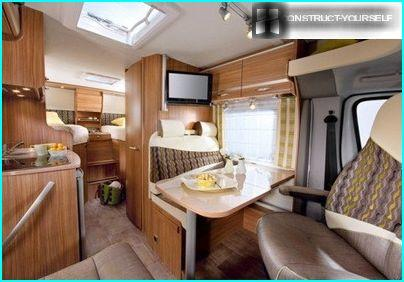 Cottage on the inside wheels
