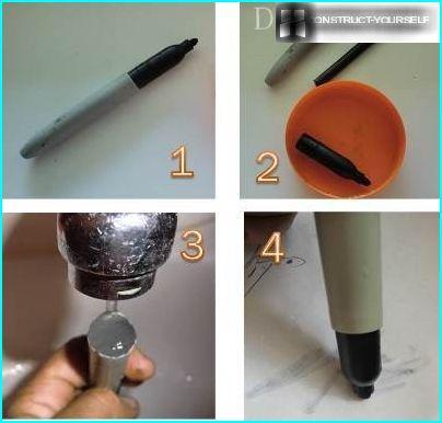 water handle