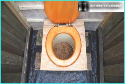 Peat toilet
