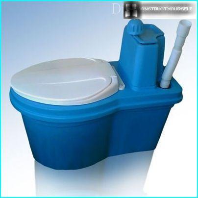 Budget peat toilet