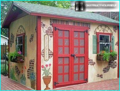 Originally designed barn