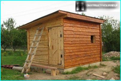 Traditional brick barn