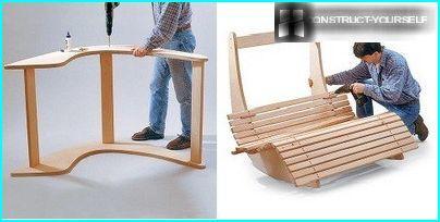 Assembling the chair