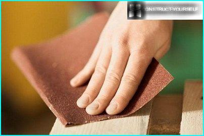 Sanding surface