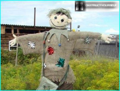 Scarecrow bereit