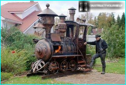 Stove locomotive