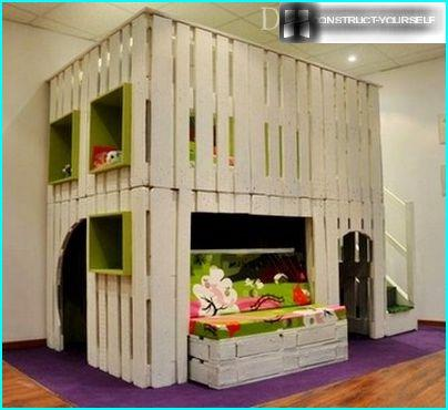 Two-storey house for children to play