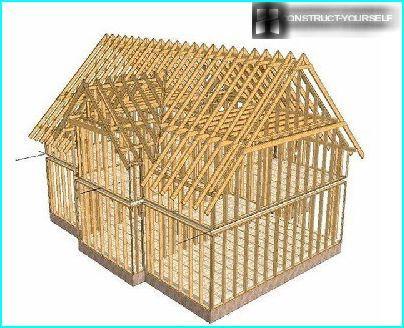 Der Rahmen des Holzes