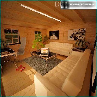 Das Interieur im Stil des Minimalismus