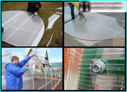 Casing wall polycarbonate