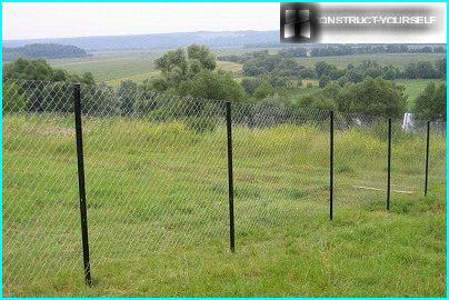 Fence without rods