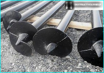 Screw piles - a reliable basis at an affordable price