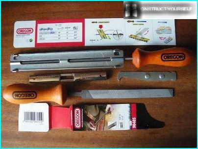 Set for sharpening