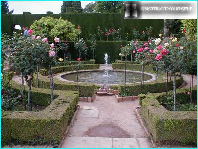 Rosary pond