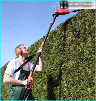 Teleskopiskie Hedge Trimmer