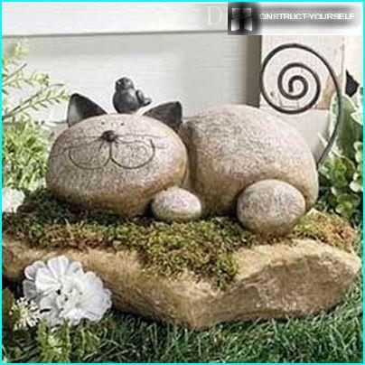Cat of stone