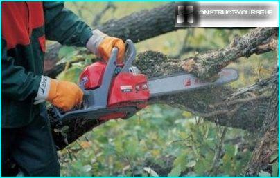 Chainsaw work