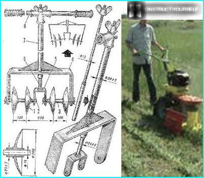 Disk rotary cultivator