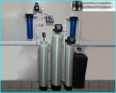 Water purification from iron