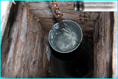 Water in the well