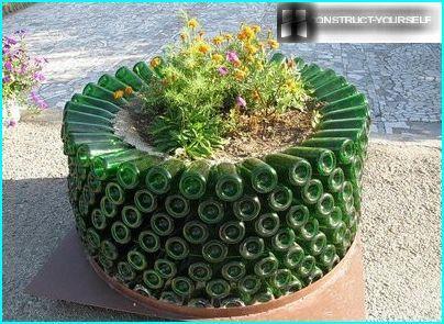 Flowerbed, flowerpot