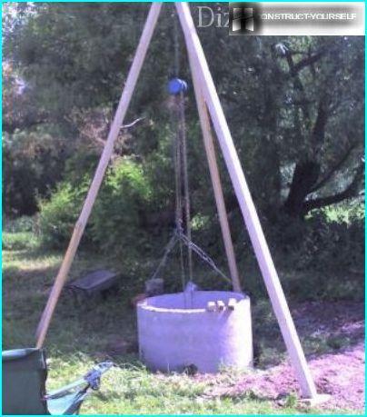 Tripod with hoist