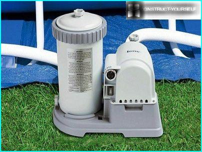 Cartridge filter for swimming pool