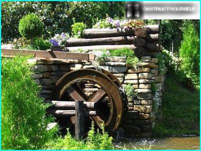 Watermill in colors