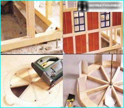 Salikšana dzirnavu modeli (2 daļa)