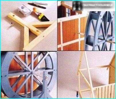 Salikšana dzirnavu modeli (3.daļa)