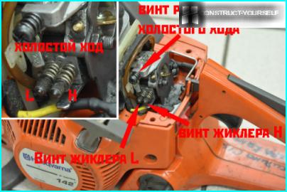 Demontāža karburatoru