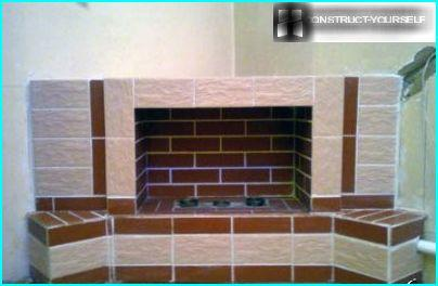 decorating the fireplace