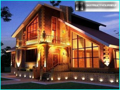 น้ำท่วมไฟในการออกแบบบ้าน