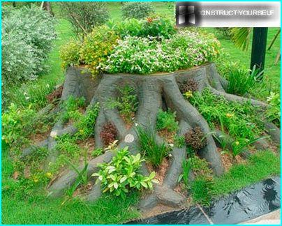 Decorative tree stump