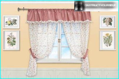 Curtains made of natural fabrics
