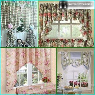 Examples Provence style curtains