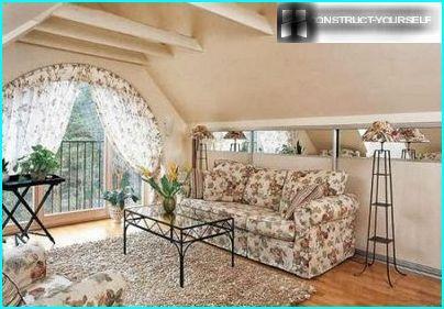 Penthouse im Stil der Provence
