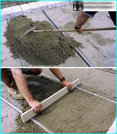 "Gradual improvement of sand ""cushion"""