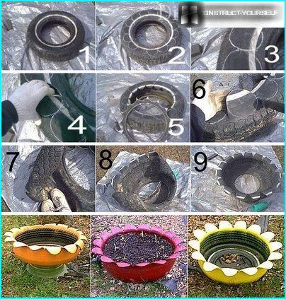 Istruzioni passo passo per la creazione di un vaso di fiori