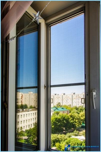 Moustiquaire à faire soi-même sur les fenêtres en plastique