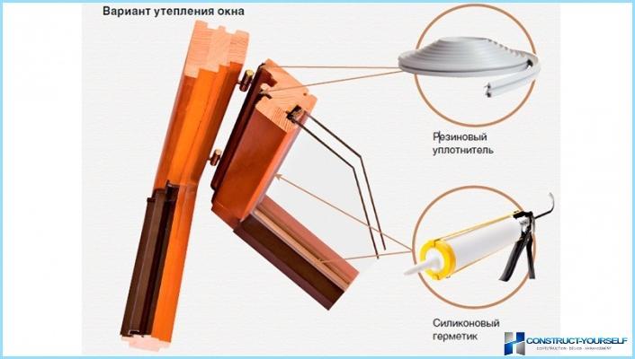 Jak izolować drewniane okna własnymi rękami